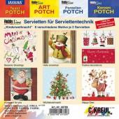 """Assortiment de serviettes """"Noël"""""""