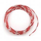 Fil aluminium bicolore Ø 2mm/2m, rouge