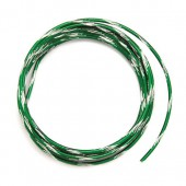 Bicolor alu wire, Ø 2mm/2m, dark green