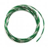 Fil aluminium bicolore Ø 2mm/2m, vert sapin