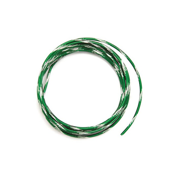 Bicolor alu wire, Ø 2mm/2m, dark green
