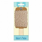 Baker's twine, light brown-white, 15m