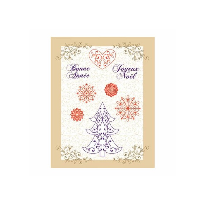 Clear stamps, Christmas stylish