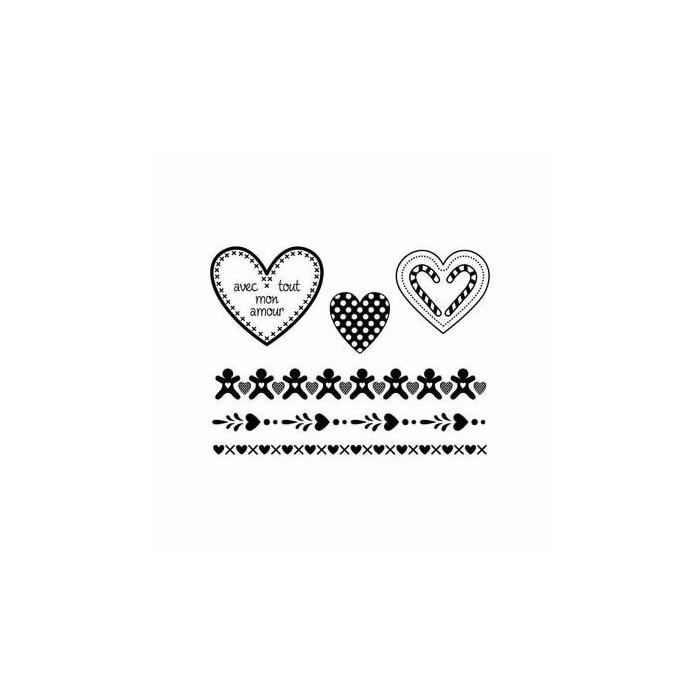 Clear stamps, Avec tout mon amour