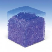 Cubes de cire, 500g, bleu