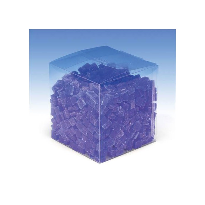 Wax cubes, 500g, blue