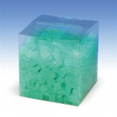 Wax cubes, 500g, turquese