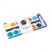 Boîte aquarelle, 12 couleurs