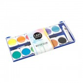 Water color box, 12 colours