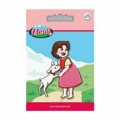 Motif à fixer au fer à repasser, Heidi avec agneau