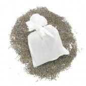 Sachet à lavande en soie, 11x15cm