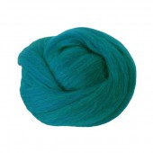 Felting wool, petrol