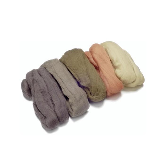Merino wool extra fine, brown-skin