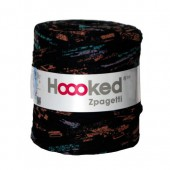 Hoooked Zpagetti, 120m, black/orange