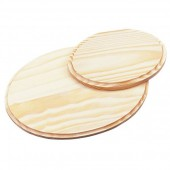 Wooden board, oval, 22.5cm