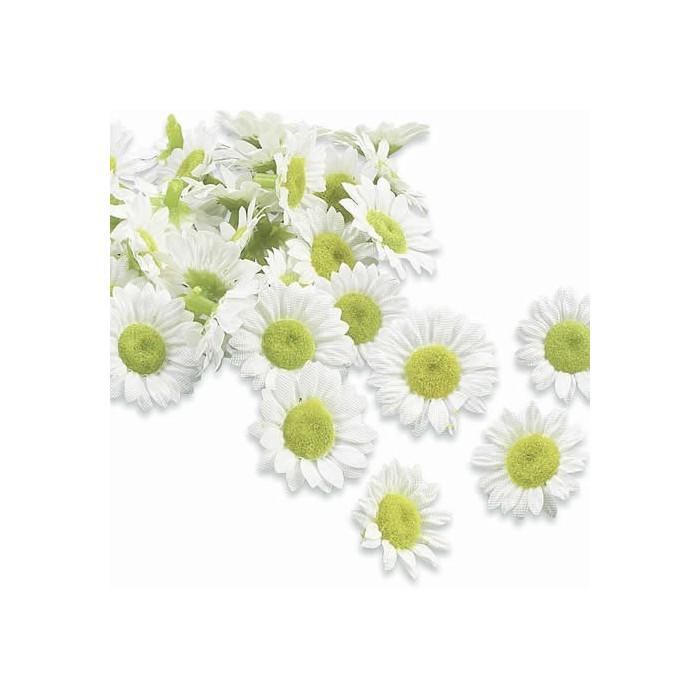 Mini daisies Ø 15-20mm, 30 pcs
