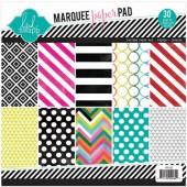 Marquee Love - Bloc 21.6x21.6cm