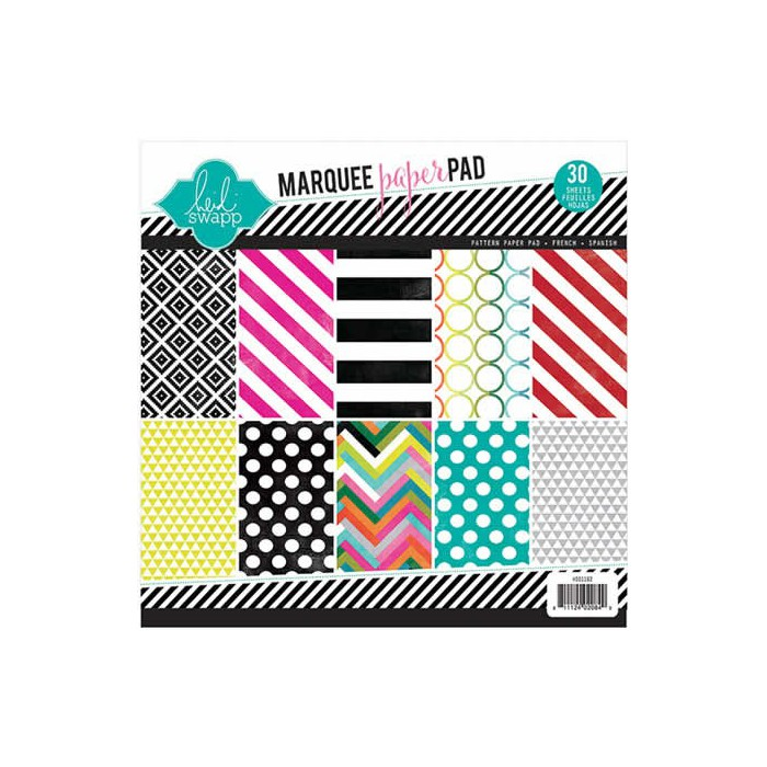 Marquee Love - Paperpad 21.6x21.6cm