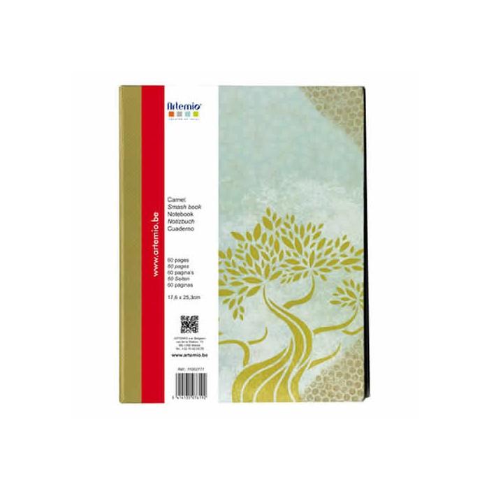 Cardboard Notebook, 17.6x25.3cm, Pure
