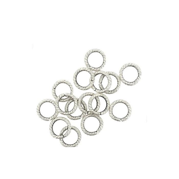 Jump rings 11mm, 5 pcs