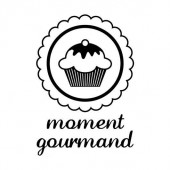 Clear stamp - Moment gourmand