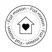 Clear stamp - Fait maison