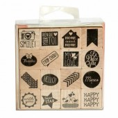 Rubberstamp Set Family Events