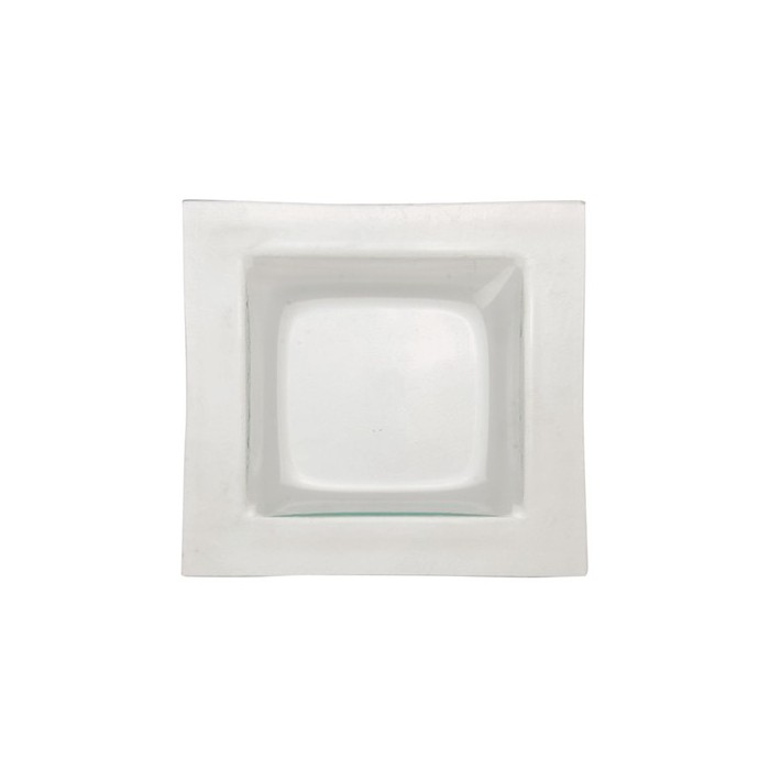 Glass blowl, square 18x18cm