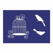 Pochoir Oiseau A5
