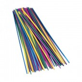 Coloured straws, 22cm/50pcs