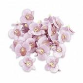 Orchidées, Ø 20mm, 26 pces