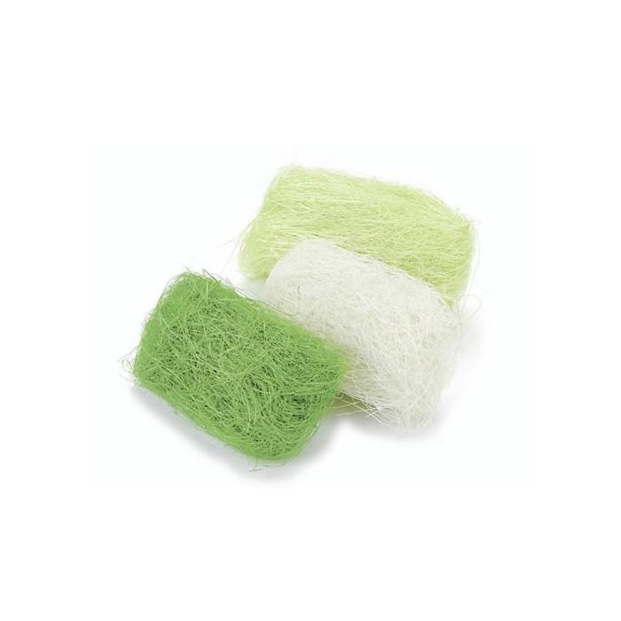 Abaca fibres, 3x10g, green