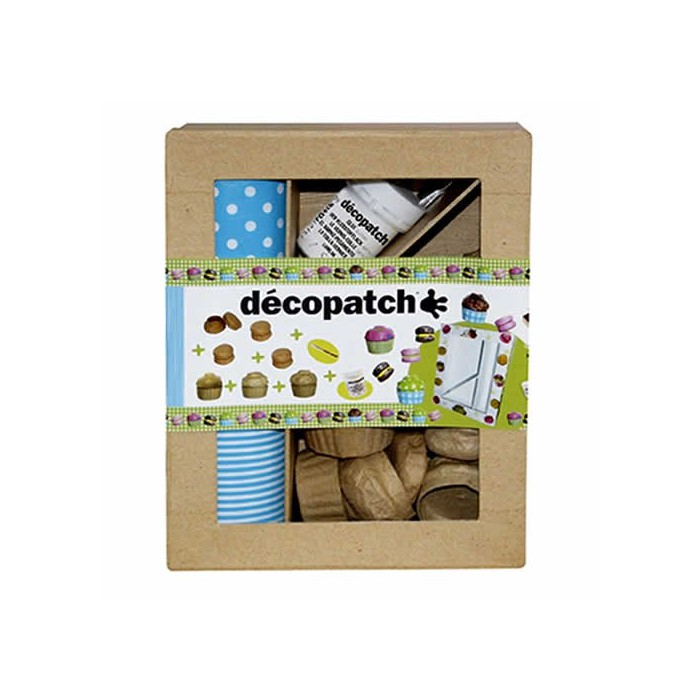 Decopatch kit - Macarons