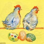 Napkin hens, 1 piece