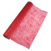 Papier de soie paillé, rouge