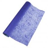 Papier de soie paillé, bleu foncé