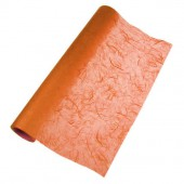 Fibre silk paper, orange