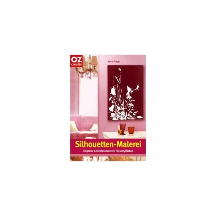 "Book ""Silhouetten-Malerei "", german"