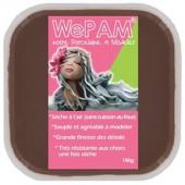 WePAM chocolat 145g, pâte porcelaine prête à l'emploi