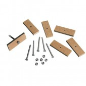 Fasteners and accessories for deco knobs, 18 pcs