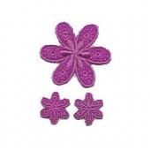 Motifs à fixer au fer à repasser, Fleurs, lilas
