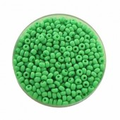 Rocailles 2.6mm, meadow green, 17g