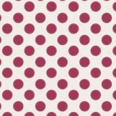 Tilda Sewn Spot Carmine red - 50x55cm