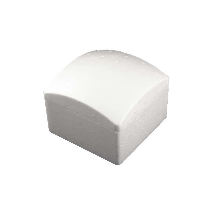 Box, square, rounded top, 135x135mm