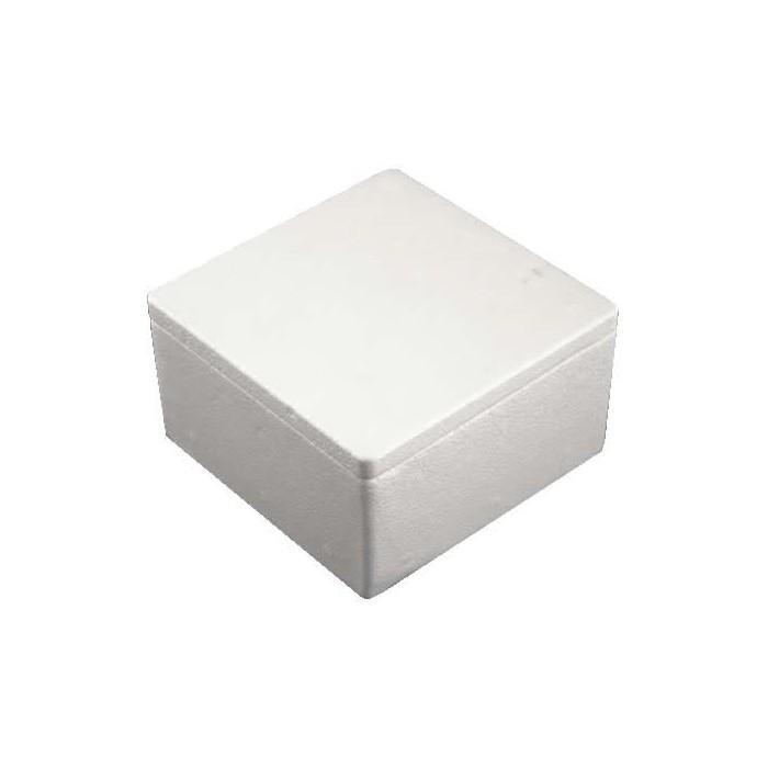Box, square, flat top, 135x135mm