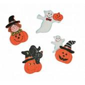 Décorations d'Halloween, 18 pces 3.5cm