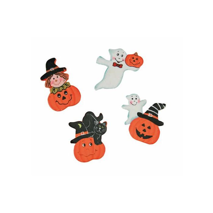Halloween decorations, 18 pcs 3.5cm