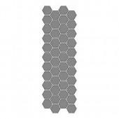 Stencil honeycomb, 13x40cm