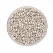 Rocailles, argent 2.6mm, 17g