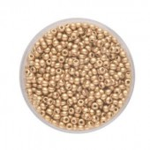 Rocailles 2.6mm, antique gold, 17g